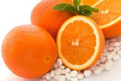 Oranges and Vitamin C Pills
